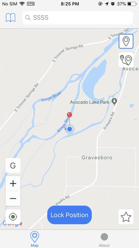 localización falsa del gps del iphone